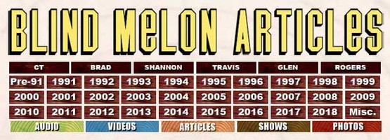 Blind Melon Articles (official website)