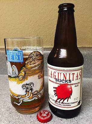 Lagunitas Sucks, Jabba ROTJ Glass