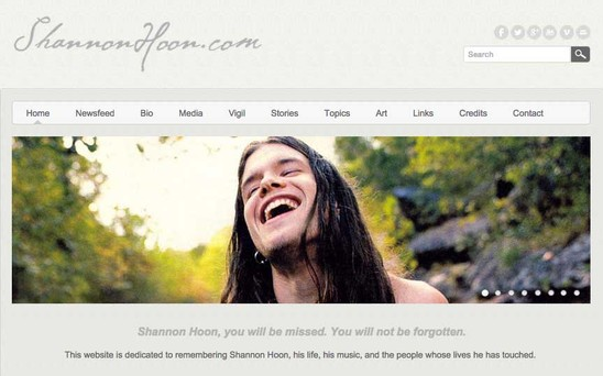 shannonhoon.com (official website)