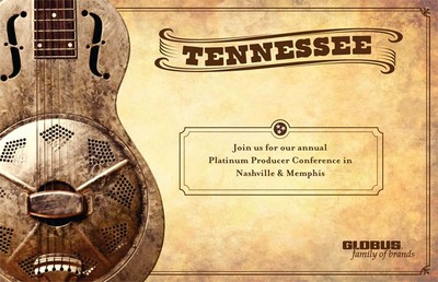 Tennessee Tourism Conference invitation