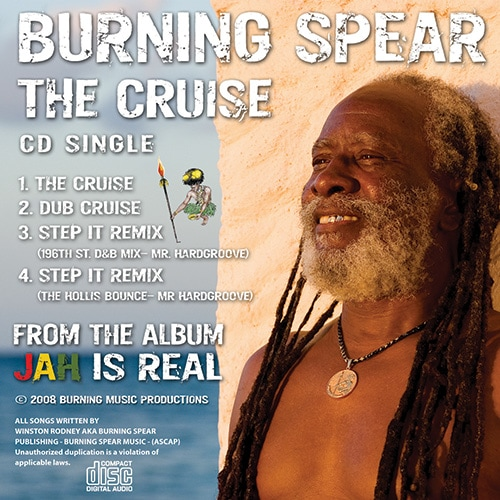 album artwork / Burning Spear - The Cruise